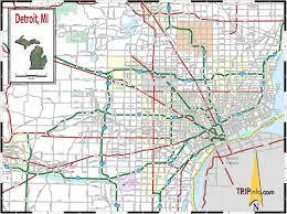 Maps Michigan by Map Of Detroit Michigan Detroit Michigan On Map Michigan Usa