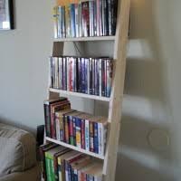 Markor Bookcase Classy Ladder Shelves With Unfinished Oak Ladder Bookcase Attached