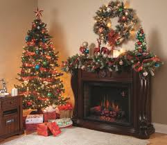 decoration fireplace christmas decoration mantle for with big