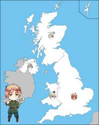 Map Of The United Kingdom Aph Map Of The United Kingdom By Jjblue1 On Deviantart