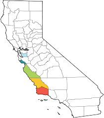 Map Of Orange County Ca The Xerces Society Where To See Monarchs In California
