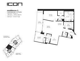 icon south beach floor plans