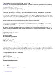 Free Resume Builders Completely Free Resume Maker Resume Example And Free Resume Maker
