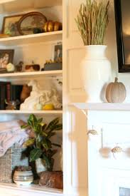 acorn vase filler our fixer upper fall home tour living room u2014 miss molly vintage