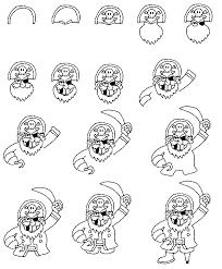coloring draw pirates 2nk jake land
