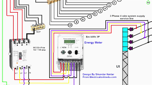 three phase house wiring diagram operation mifinder co fine pdf