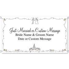 Wedding Congratulations Banner 5 Unique Wedding Banner Ideas Paperdirect Blog