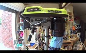 ryobi drill press unboxing youtube