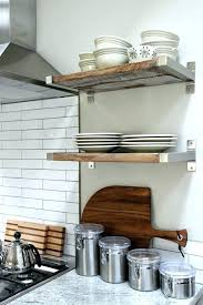ideas for kitchen shelves open shelving cabin ideas kitchen designs our diy reclaimed wood