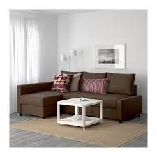 sofa chaise convertible bed friheten sleeper sectional 3 seat skiftebo brown ikea