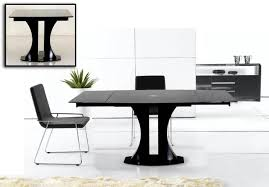 Modern White Dining Table by Renew Zenith Modern White Extendable Dining Table Table