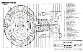 Ncc Map Star Trek Blueprints Starfleet Vessel Galaxy Class Starship