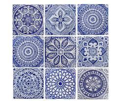 garden decor outdoor wall art and ceramic tiles by gvega on etsy