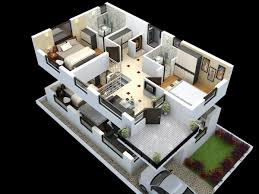 cut model of duplex house plan interior design click this link