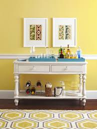 Yellow Dining Room Decorating Ideas by Console Table Decorating Ideas Home Design Ideas
