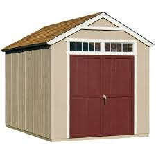 handy home products majestic 8 ft x 12 ft wood storage shed