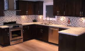White Backsplash Kitchen Kitchen Dark Brown Kitchen Cabinets Pantry Kitchen Cabinets