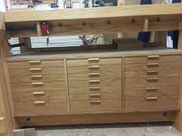 Ideas For Workbench With Drawers Design Workbench Drawers Finally Done Drawer Pulls Pinterest