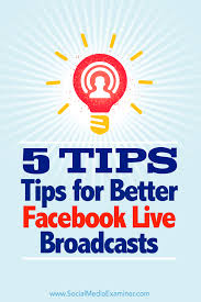 What Does Hashtag Mean 5 Tips For Better Facebook Live Broadcasts Social Media Examiner