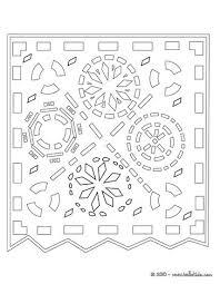 cut paper decoration coloring pages hellokids