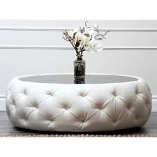 Tufted Coffee Table Tufted Ottoman Coffee Table Foter