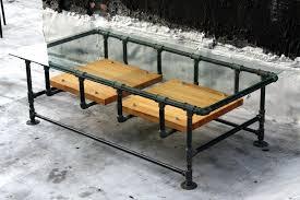 pipe table legs kit industrial pipe furniture coffee industrial pipe table copper side