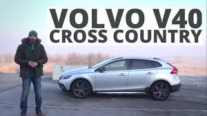 volvo v40 cross country r design volvo v40 cross country 2 0 d4 drive e 190 km 2015 test