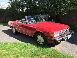 convertible mercedes red 1989 mercedes benz 560sl for sale classiccars com cc 992429