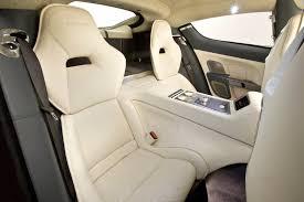 2012 aston martin rapide aston aston martin rapide rear seats eurocar news