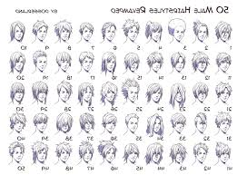 names of anime inspired hair styles anime boy hairstyles top men haircuts
