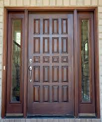 exterior fabulous entry front door with solid wood design and