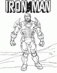 iron man coloring pages free printable kids coloring