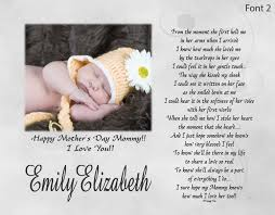 new mommy mother u0027s day gift from son or daughter personalized