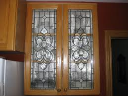 stained glass kitchen cabinet inserts