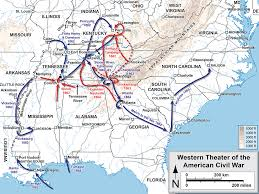 Map Of Ohio And Kentucky by Western Theater Of The American Civil War Wikipedia