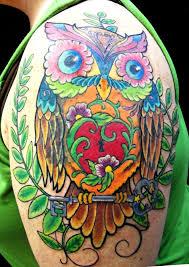 owl tattoo by janatats on deviantart