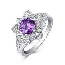 amethyst engagement rings amethyst engagement rings lajerrio jewelry