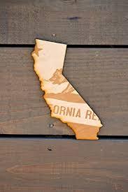 wooden california wall california wood wall handmade