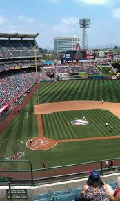 Angel Stadium Seating Map Angel Stadium Section V426 Home Of Los Angeles Angels Of Anaheim