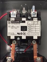 quality motor starter magnetic starter 5hp single phase 208 240