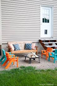 Kids Patio Chairs by Easy Diy Kids Patio Chairs A Houseful Of Handmade