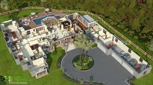 hotel resort 3d floor plan by yantram studio 3d artist