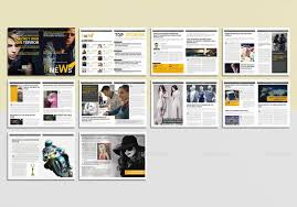 31 creative magazine print layout templates for free free