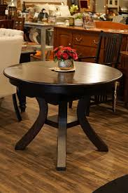 amish oak wood dining table