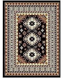 Lodge Style Area Rugs Deals On Southwest Lodge Tribal Style Area Rug Black 5 X8