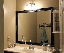 Remove Mirror Glued To Wall How To Frame A Builder Grade Bathroom Mirror Hometalk