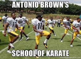 Antonio Brown Meme - czeshop images antonio brown kick meme