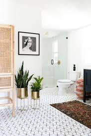 Vintage Bathroom Rugs Gorgeous Modern California Boho Bathroom With Vintage Rug