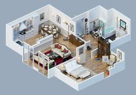 apartment layout ideas apartment designs shown with rendered 3d floor plans design