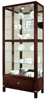 curved corner curio cabinet contemporary curio cabinets hero curio cabinet in espresso modern